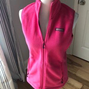 🐳 Vineyard Vines Vest Fleece jacket sweatshirt